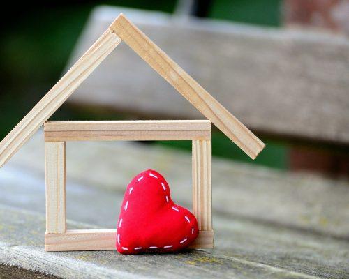 Haus, Herz, Immobilienfinanzierung